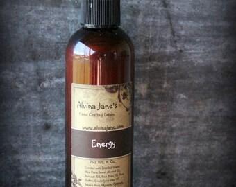 Energy Lotion, Moisturizing, Shea Butter, 8 oz.