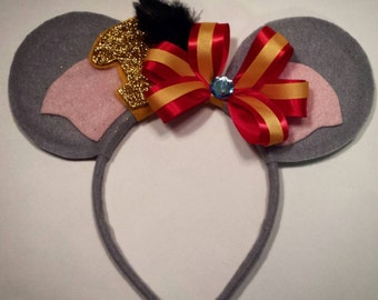 Dumbo and Timothy the Mouse inspired Minnie Mouse Ears