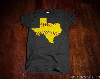 Texas Softball Ladies junior fit t-shirt