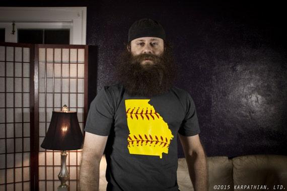 Georgia Softball mens tshirt