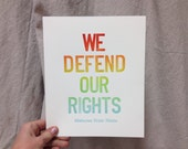 We Defend Our Rights: Celebrating Gay Marriage in Alabama