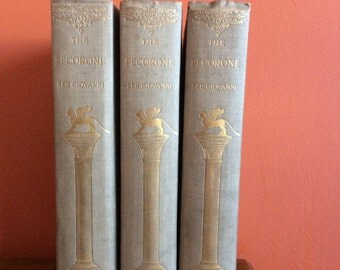 The Pecorone of Ser Giovanni - 1898 - Three Volume Set