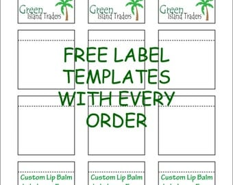 lip balm labels 12 labels on 1 sheet perforated fresh seal labels professional from wildherb. Black Bedroom Furniture Sets. Home Design Ideas