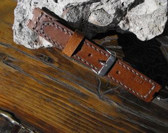 Moto 360 straps, leather band Moto 360, smartwatch band, Birthday dift