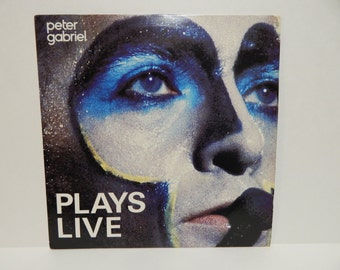 Peter gabriel plays live 2lp vinyl Record Set