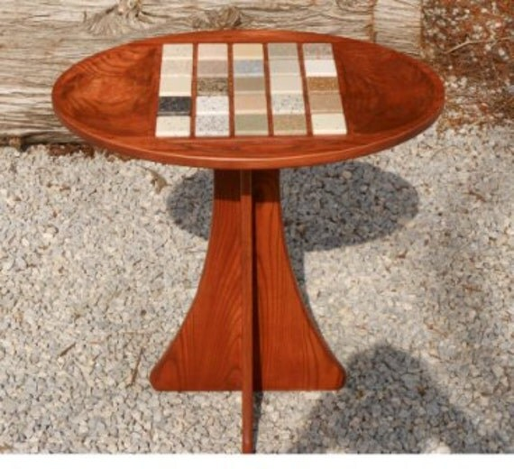 Solid Hardwood End Table