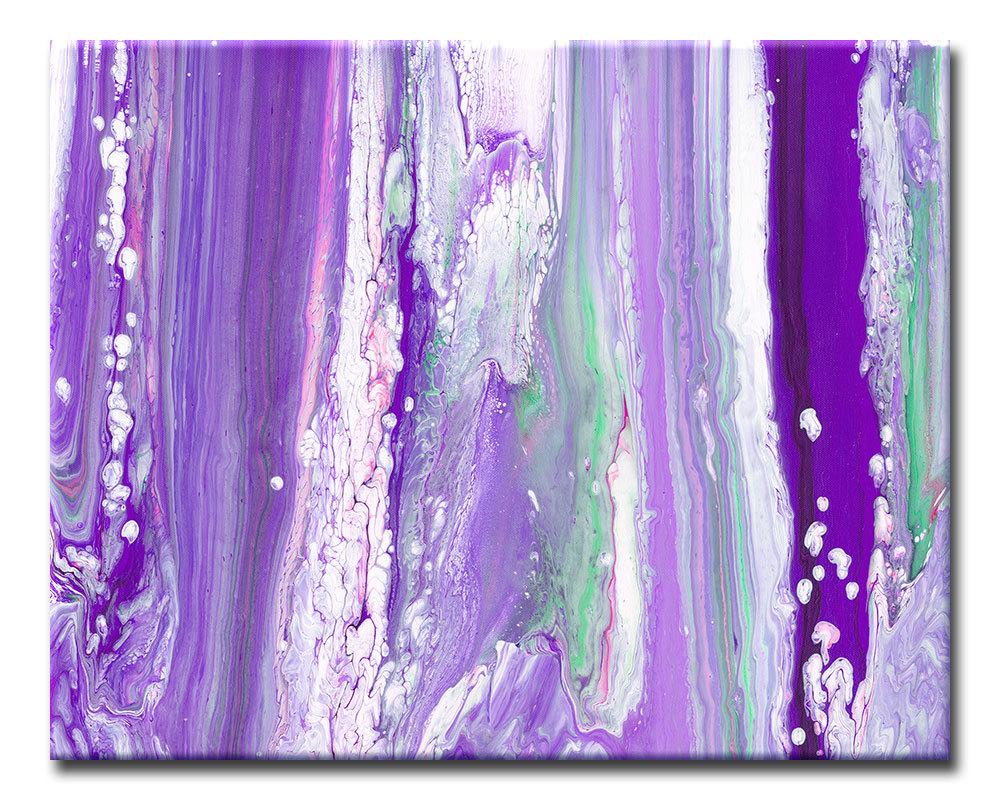Purple home decor wall art purple wall decor large for Purple wall decor