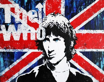 The Who Poster of Original Painting 11x17