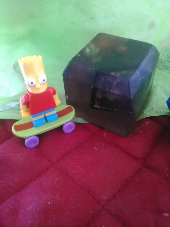 Simpsons Fun Soap with Toy