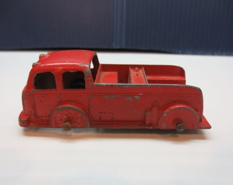 1940's Tootsie Toy Die Cast Fire Truck