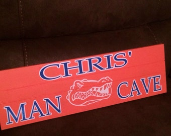 Florida Gator's Man Cave Sign