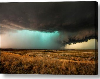 Gallery Wrap Canvas, Canvas Storm Art, Canvas Giclee, Wall Covering, Room Decor, Nature Canvas Art, Fine Art Gallery Wrap, Stretcher Frame