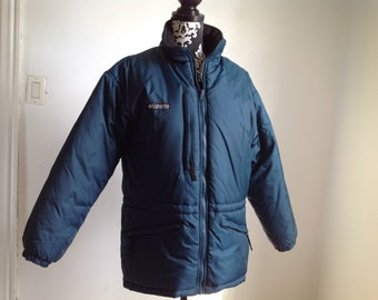 Blue Green Columbia LL Bean Women's Winter Jacket - Medium