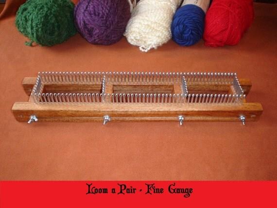 Fine Gauge Knitting Looms - Long Sweater Jacket