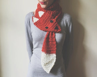 Crochet Fox Scarf