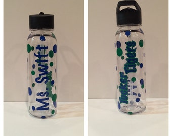 Personalized Teacher Water Bottles
