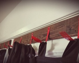 Silverware Curtain Hooks