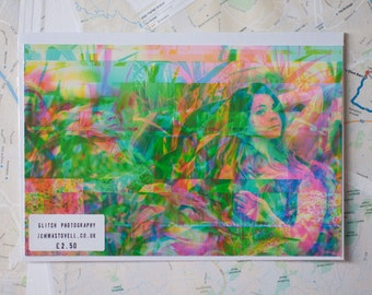 "Glitch Art print ""amy6.jpg"""