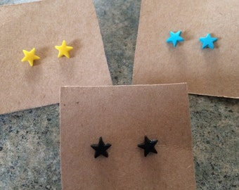 Star Struck Tiny Star Stud Earrings