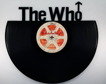 Recycled Vinyl Record The WHO Wall Art