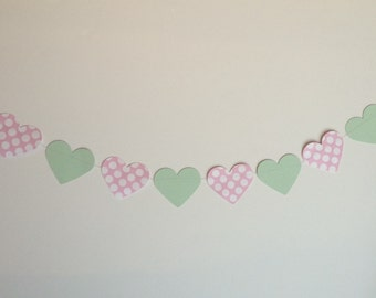Heart garland-any color