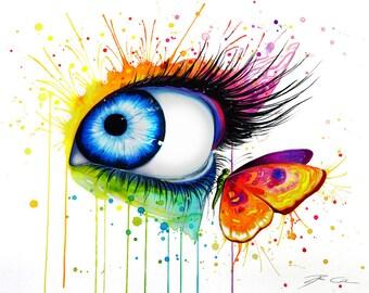Colors- signed Art Print