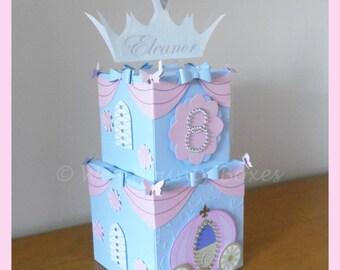 Princess Cinderella Inspired Carriage & Bows Centrepiece
