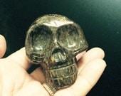 Bronzite Crystal Skull