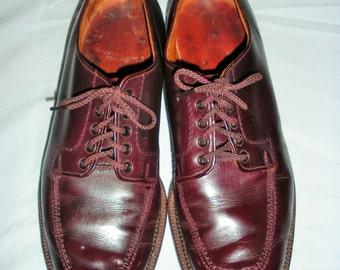 Vintage Bates Originals *RARE* Brown Leather Mens Golf Shoes