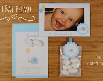 Kit Battesimo - Sky Blue Version (prodotti abbinabili a scelta)