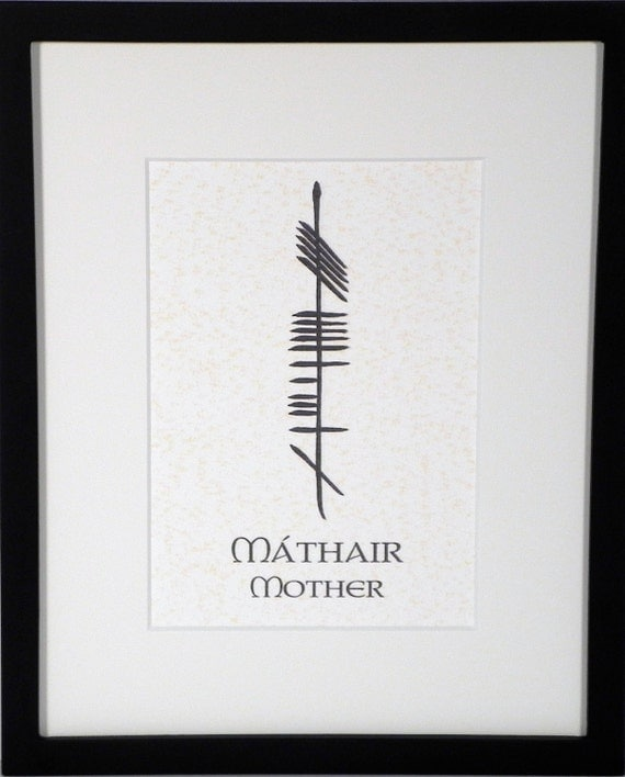 Mother M 225 Thair Ogham 8x10 Print
