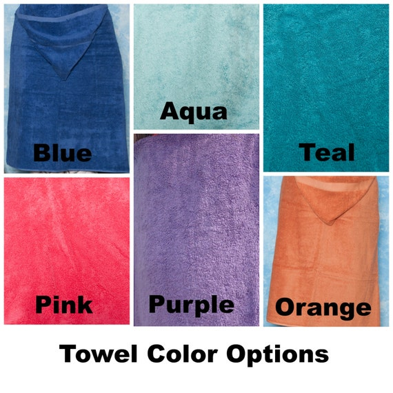 Large Adult Hooded Bath Towel Personalized Adult Hooded Beach