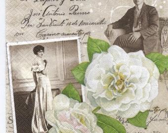 Decoupage Napkins | Marriage Mementos  | Paper Napkins for Decoupage
