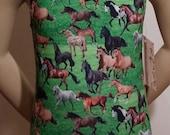 "Horse Leotard, Girls Sizes 2 to 12 -  ""HORSE LOVER LEOTARD"" for Gymnastics and Dance"