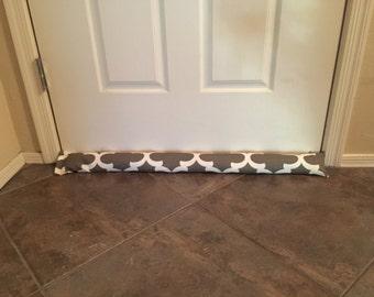 Draft Stopper - Brown Door Draft Stopper- Window or Door Snake- Breeze Blocker