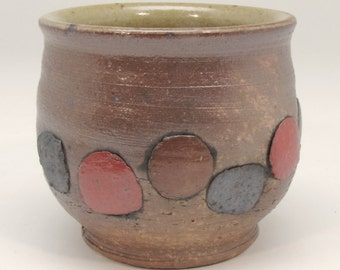Cup with Applied Dots