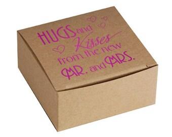 Wedding Favor Box~50