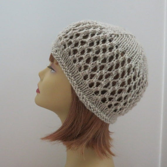 Hat Knitting Pattern Summer Hat Flapper Hat