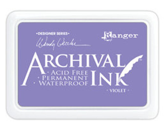 VIOLET Wendy Vecchi Archival Ink Pad by Ranger