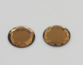 Copper Colored Mirror Cabochon