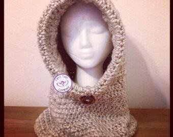 Hooded Cowl crochet pattern, kids hooded cowl, hooded cowl pattern, crochet pattern