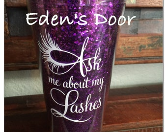 DIY 3 count Ask Me About My Lashes Vinyl & web address Younique DIY Vinyl Only