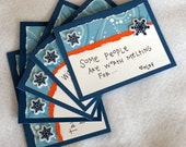 Frozen Quote - Olaf Quote cards (blank, set of 5, with envelopes)