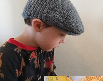 Child's crocheted Scally Cap