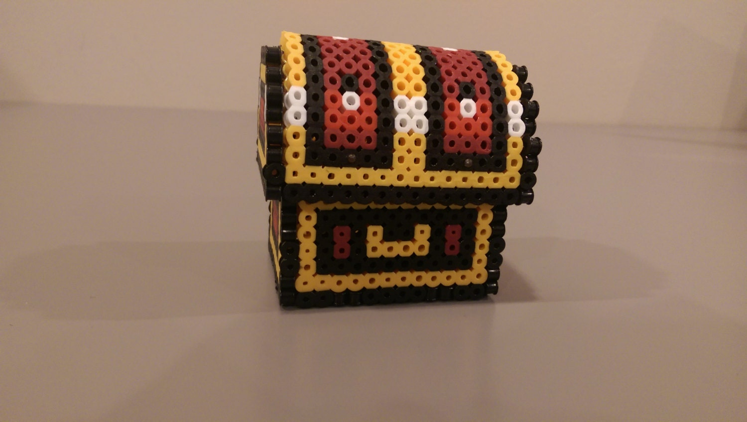 3d chest from the legend of perler bead sprite