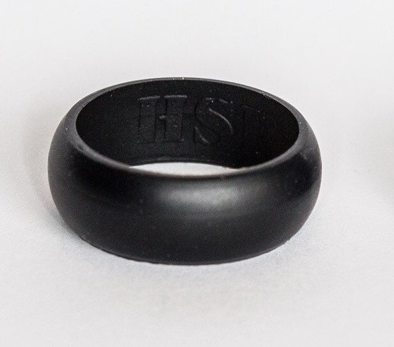 High Speed Pro 9mm Silicone Wedding Band Ring By HighSpeedPro