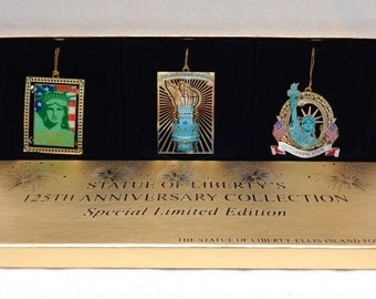 "Special Limited Edition ""Statue of Liberty"" 125th Anniversary Collection 3"" x 3"""