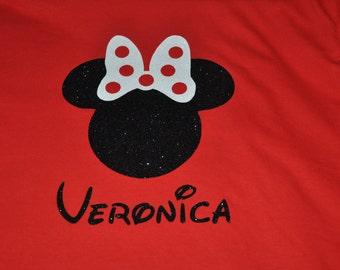 Sale item~~Disney Inspired Minnie Mouse Tee Veronica