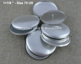 """5 Cover Buttons 1.7/8"""" (Size 75)"""