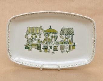 Figgjo Flint Market - Turi Design - large serving platter - plate - Made in Norway - Scandinavian design - dish bowl